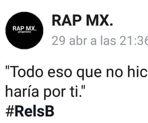 amor, frases, and rap image