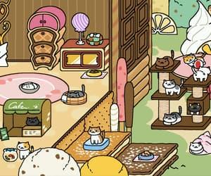 cats, neko atsume, and neko: zena image