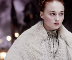 got, sophie turner, and game of thrones image