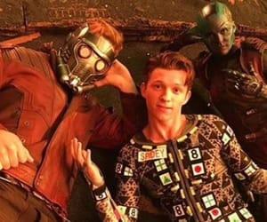 Marvel, nebula, and spiderman image