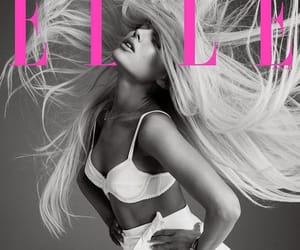 ariana grande, Elle, and magazine image