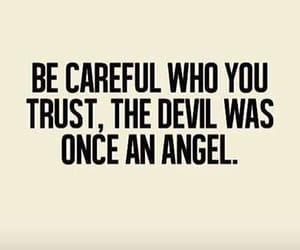 angel, Devil, and trust image
