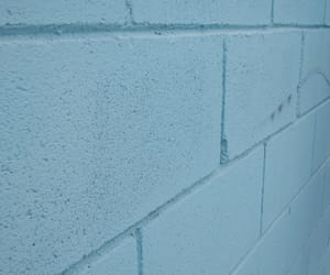 azul, blue, and wall image