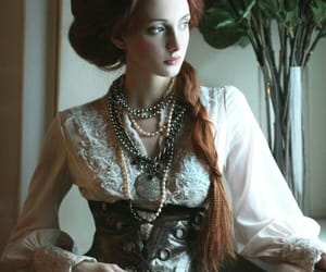 girl, steampunk, and lady image