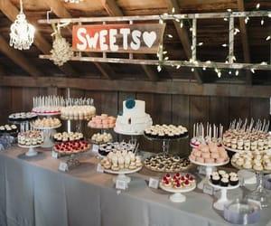 dessert, wedding, and food image
