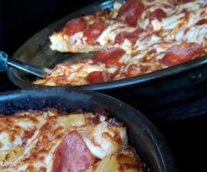 aesthetic, kawaii, and pizza image
