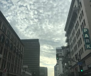 building, clouds, and socal image