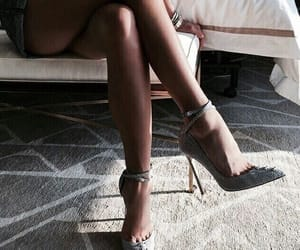 body, fashion, and heels image