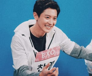 exo, exok, and park chanyeol image