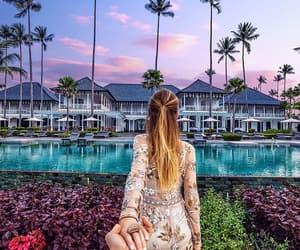couple, luxury, and travel image