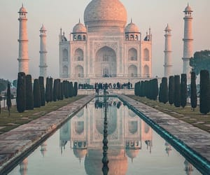 agra, beautiful, and miracle image