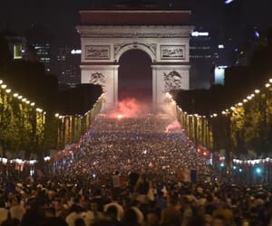 champs elysees, flag, and football image
