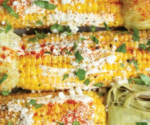 mexican, roasted, and street corn image