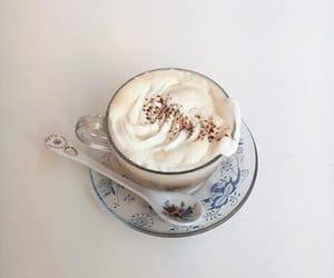 caffeine, cappuccino, and coffee image