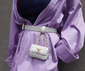 bag, fashion, and lavender image