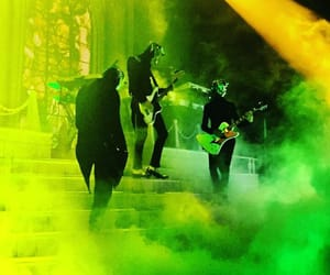 aesthetic, green, and rock image