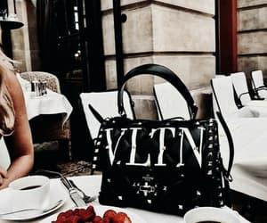 fashion, cafe, and handbag image
