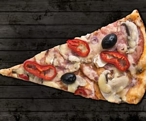fastfood, pizza, and food image
