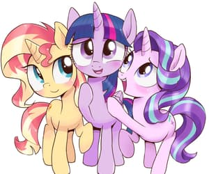 friendship, magic, and MLP image