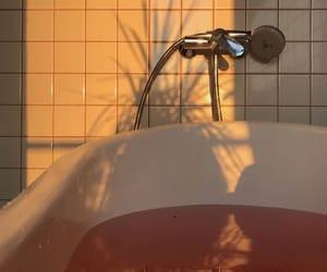 aesthetic, bath, and shadow image