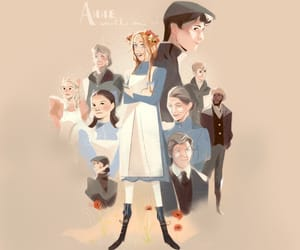 anne shirley, fanart, and gilbert blythe image