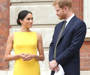 prince harry, meghan markle, and couple image