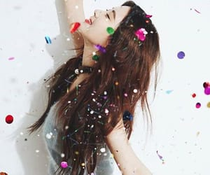 confetti, korea, and sparkle image