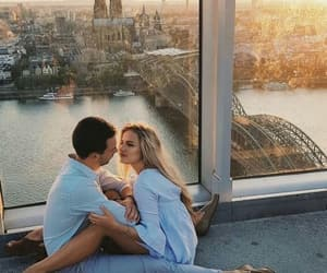 couple, morning, and romantic image