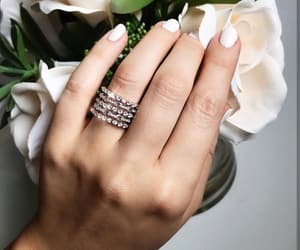 diamond, rings, and style image