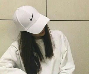 girl, nike, and tumblr image