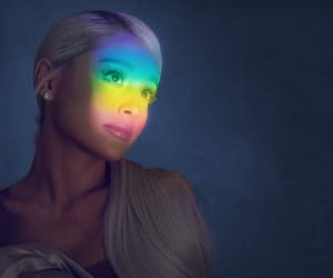 ariana grande and no tears left to cry image