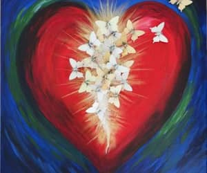 butterfly heart burst image