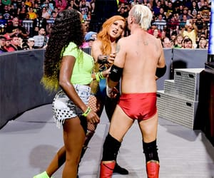naomi, wwe, and becky lynch image