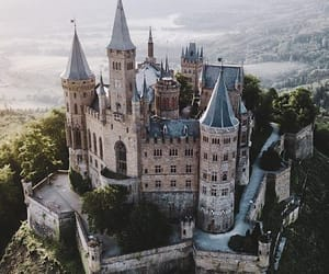 castle, burg, and germany image