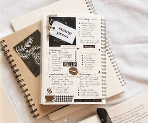 college, notes, and planner image