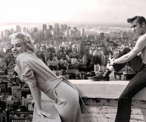 Marilyn Monroe, Elvis Presley, and elvis image