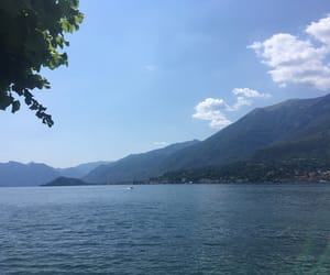 dreamy, italy, and lake image