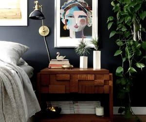 bedroom, boho, and interior design image