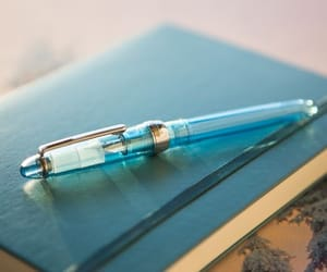 blue, book, and journaling image