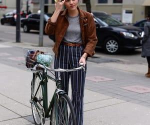 fashion, bike, and style image