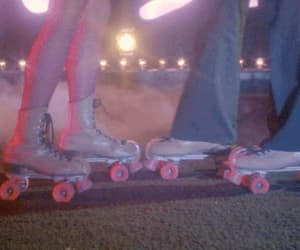 gif and rollerblades image