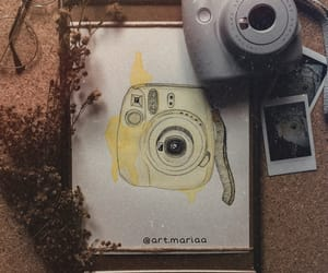 art, camera, and nostalgia image