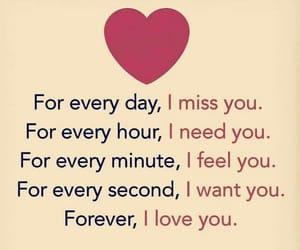I Love You, i miss you, and i need you image