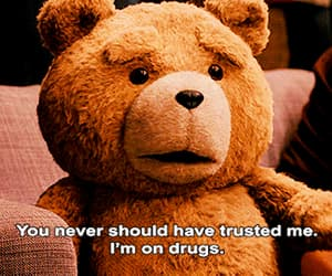 TED, drugs, and funny image