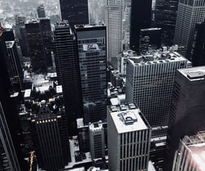 buildings, empire state, and manhattan image