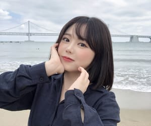 asian, beach, and kawaii image