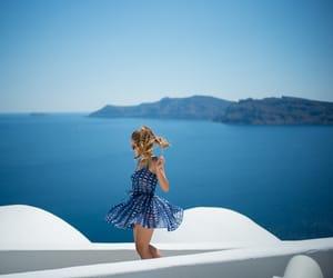 dress, summer, and fashion image