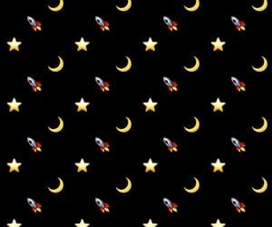 luna, stars, and stelle image