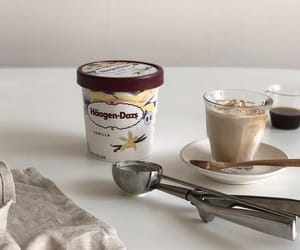 aesthetic, beige, and ice cream image