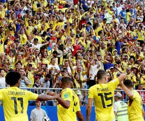 colombia, soccer, and world cup image